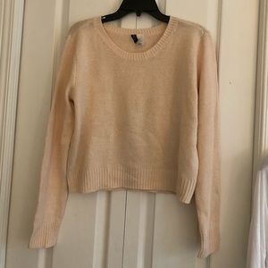 Long sleeve pink/ salmon H&M sweater size M